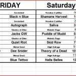 Rockin the rivers 2015 schedule