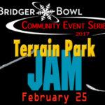 TONS of slopeside events at Bridger Bowl: Terrain Park Jam, Bridger Gully Freeride