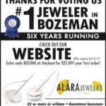 Bozeman's Best of Bozeman – Best Place to Buy Jewelry 2017- Alara