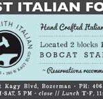 Bozeman's Best of Bozeman – Best Italian Food 2017 – Blacksmith Italian
