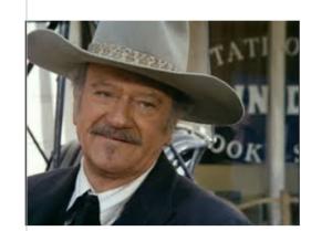 John Wayne SHOOTIST Friday, July 8 at 7 PM - The BoZone