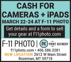 The Cash for Cameras trade-in event with KEH returns to F-11 March 22nd