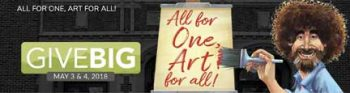 Valley's largest art class kicks off Give Big in support of Emerson, Sweet Pea & S.L.A.M.