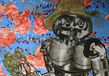 """Strangling the Fascist Viper""  – exhibition"