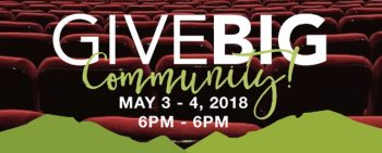 Give Big Gallatin Valley is 6pm to 6pm, May 3rd & 4th, 2018