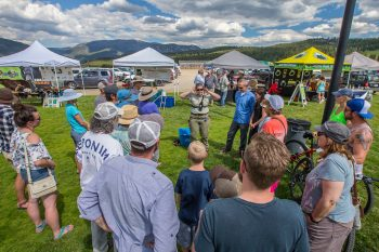 GALLATIN RIVER FLY FISHING FESTIVAL OUTDOOR FAIR on June 30th in Big sky town park
