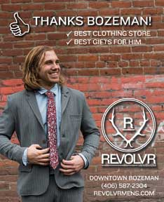 Best of Bozeman Best Clothing Store 2018- Revolver