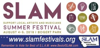 The 8th annual SLAM Summer Festival is returning to Bogert Park in Bozeman, August 4th and 5th, 2018