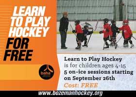 Kids: Learn to Play Hockey with BAHA!