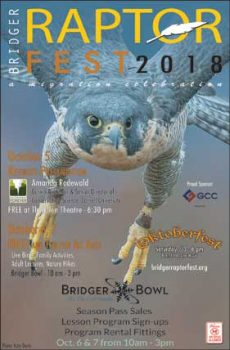 October 5th–7th, 2018 Bridger Raptor Festival returns