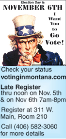 Missed the voter November 6, 2018 registration deadline? It's not tooo late!