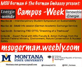 MSU 'Shaping Germany' week focuses on innovative energy, Oct. 22-26