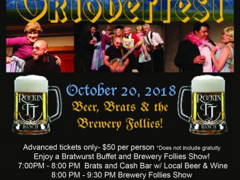 Brewery Follies entertain guests of Rockin' TJ's annual Oktoberfest