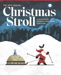 Christmas Stroll Poster